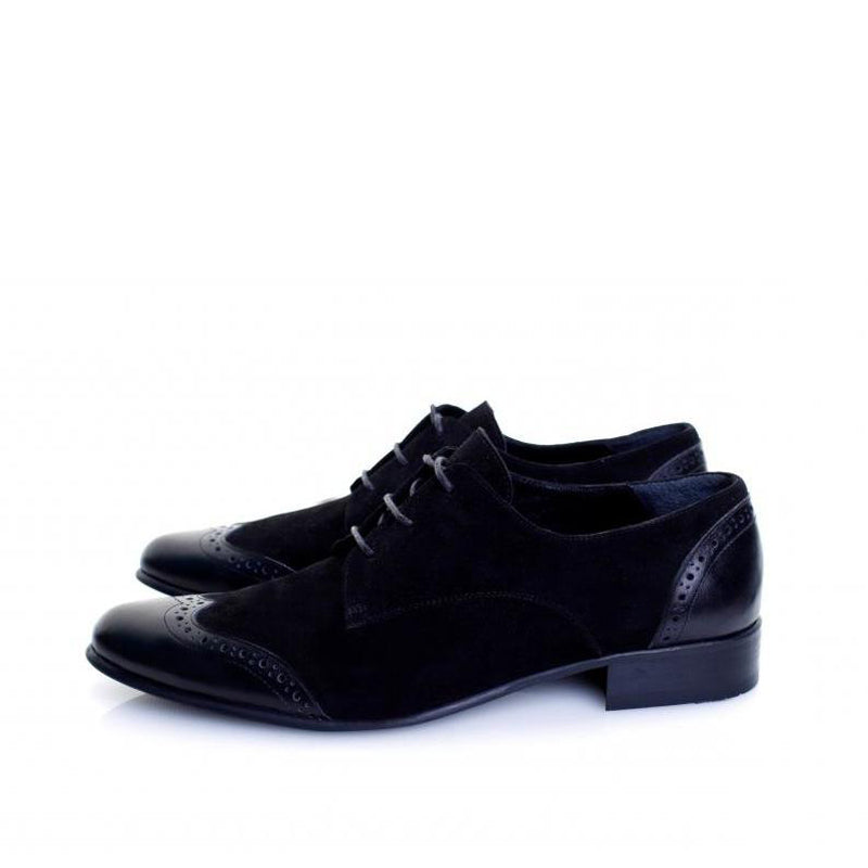 Simplicity Derby Black Shoes