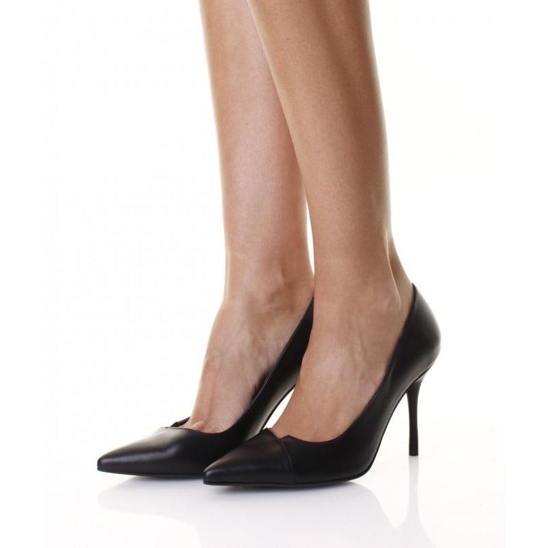 V-Cut Stiletto Pumps