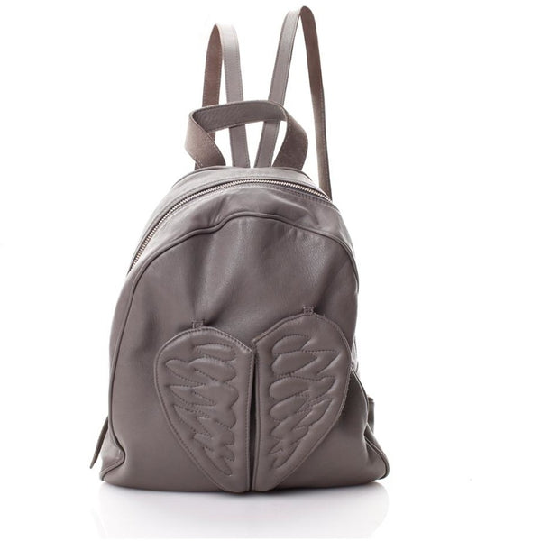 Flying Heart Grey Backpack