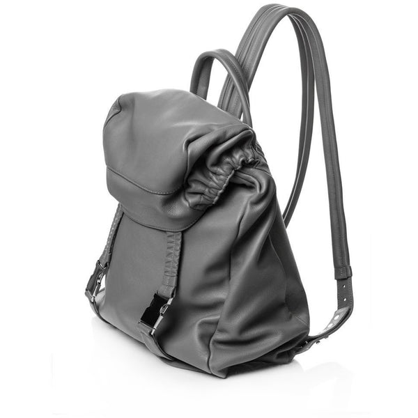 Elastic Heart Grey Backpack