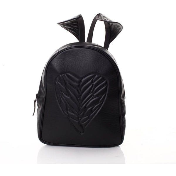 Wings on my Shoulders Black Backpack