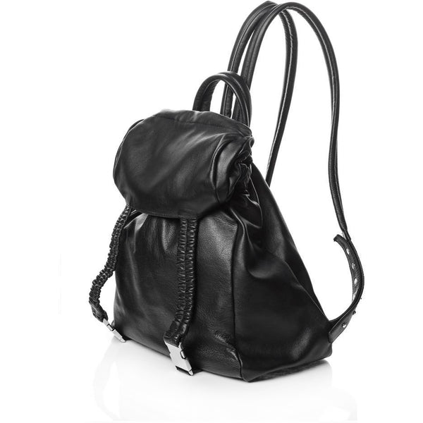 Elastic Heart Black Backpack