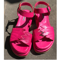 Fly With Me Fuchsia Sandals