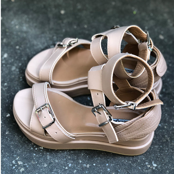 Fly With Me Beige Sandals