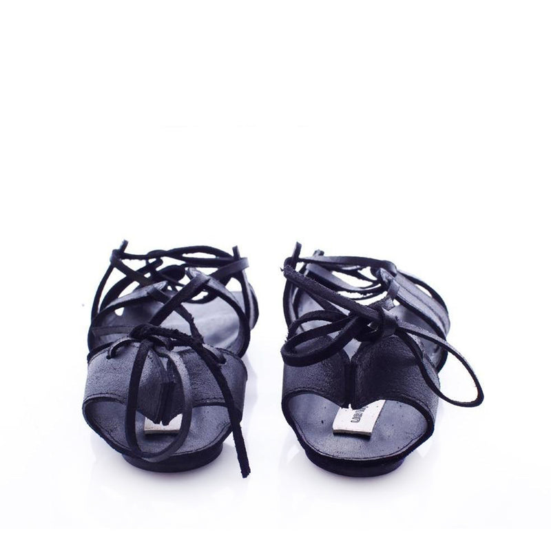Traditional Love Black Sandals
