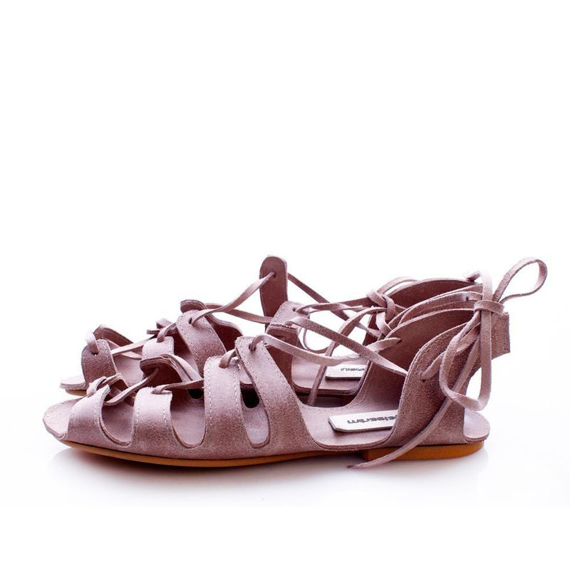 Traditional Love Nude Sandals