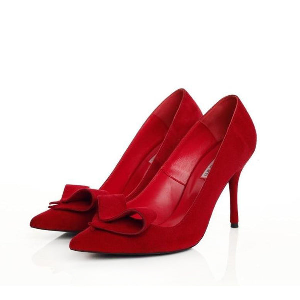 Queen of Hearts Red Pumps