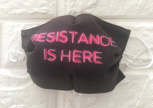 "STAMPA NEON ""RESISTANCE"""
