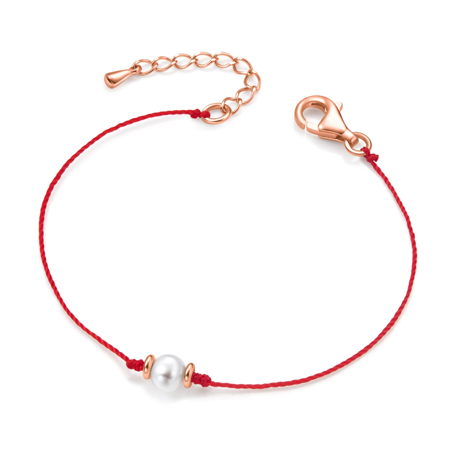 Rainbow Anklet (ferrai red)