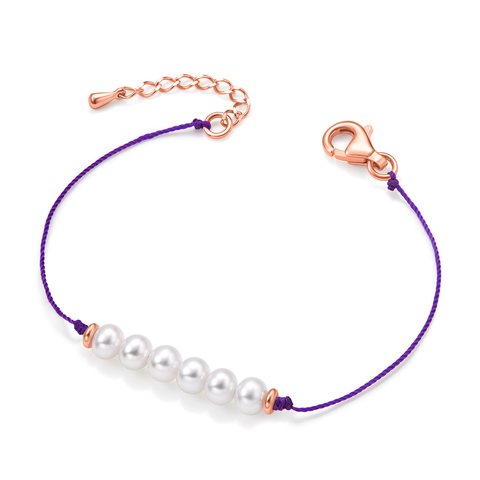 Friendship Bracelet (purple) - Woment Designer Jewelry