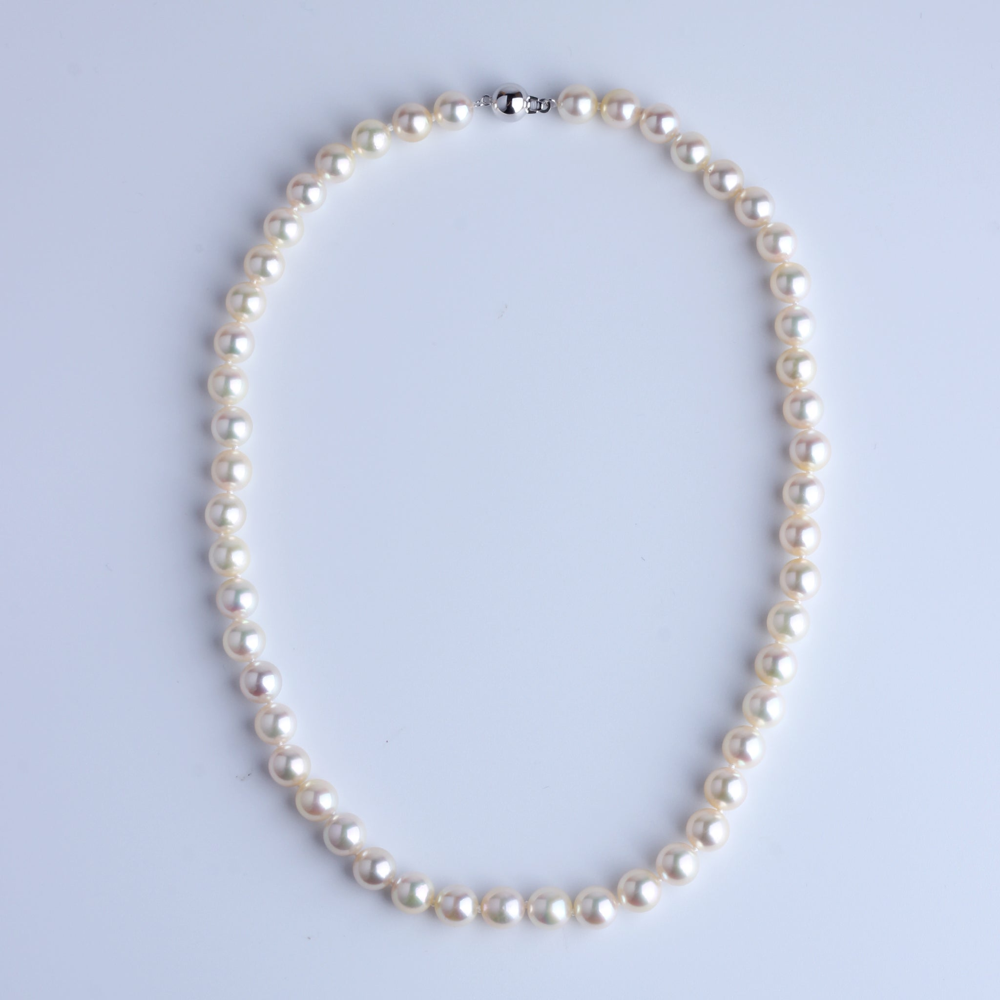 Queen Color Japan Akoya Pearl Necklace 8-8.5mm - Woment Designer Jewelry