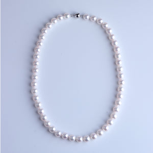 Japan Akoya Pearl Necklace 8.5-9mm - Woment Designer Jewelry