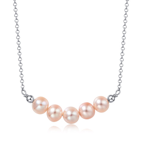 Freshwater Pearl Workshop Necklace (made to order)