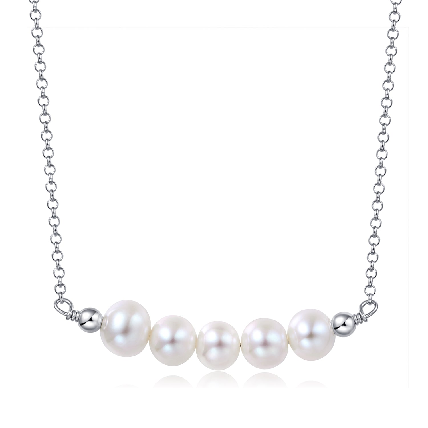 Freshwater Pearl Workshop Necklace (made to order) - Woment Designer Jewelry