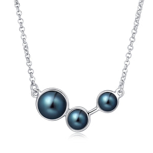 Freshwater Pearl Necklace (Black Pearl) - Woment Designer Jewelry