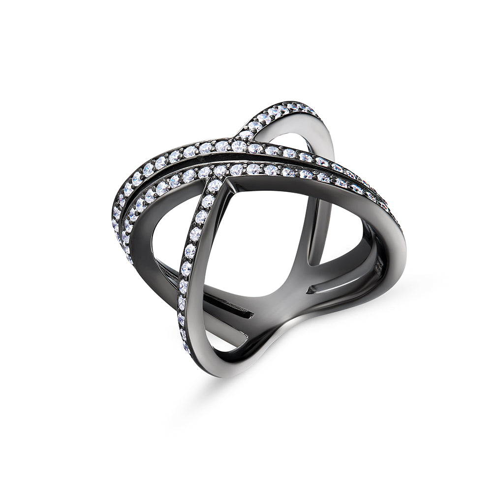 Sterling Silver Ring - Woment Designer Jewelry