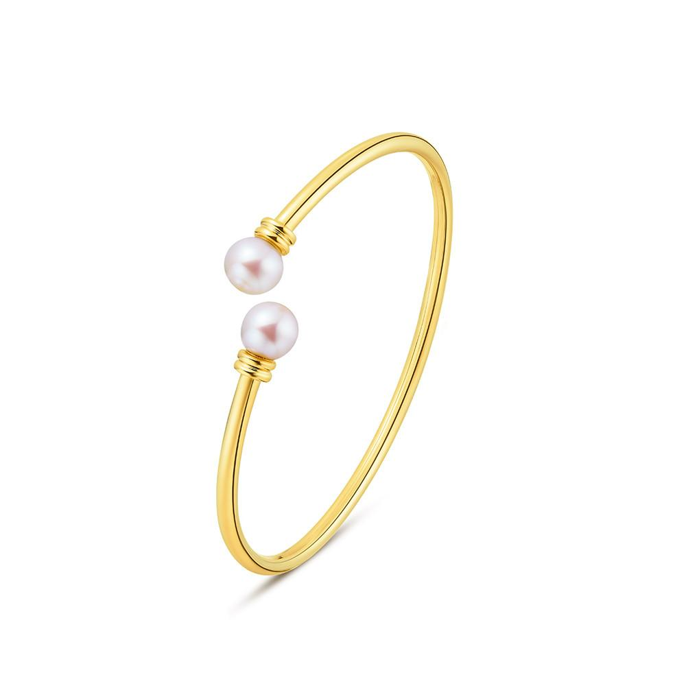 Freshwater Pearl Bangle - Woment Designer Jewelry