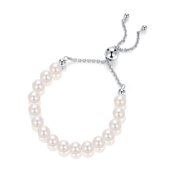 Baby Bolo Freshwater Pearl Bracelet - Woment Designer Jewelry