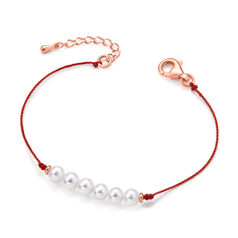 Friendship Bracelet (sangria red) - Woment Designer Jewelry