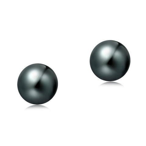 7-7.5mm Freshwater Pearl Earrings (Round Shape) - Woment Designer Jewelry