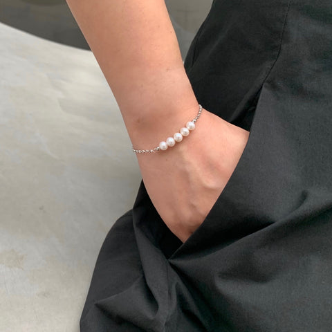 Freshwater Pearl Workshop Bracelet 自訂顏色珍珠手鏈 (訂做) - Woment Designer Jewelry