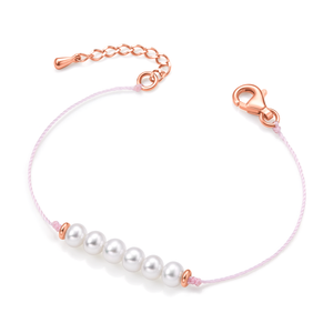 Friendship Bracelet (soft pink) - Woment Designer Jewelry