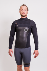 WETSUIT SHORT BLACK GREY MAN 3.2mm - FLYN & CO