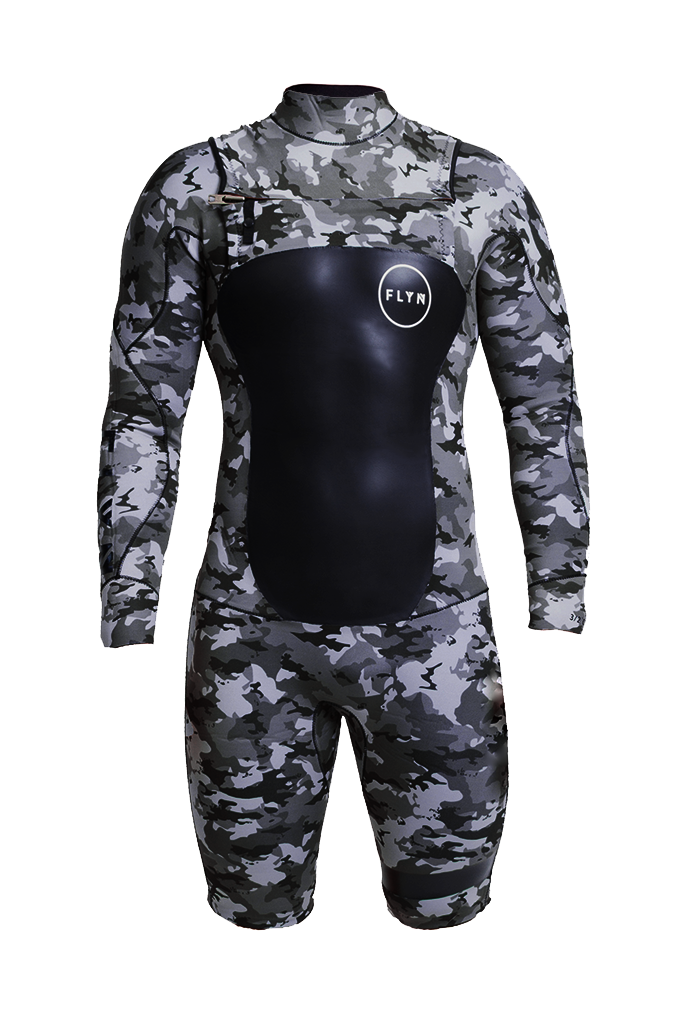 WETSUIT SHORT CAMOUFLAGE MAN 3.2mm - FLYN & CO