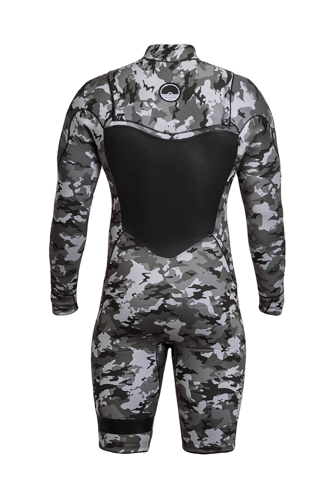 WETSUIT SHORT CAMOUFLAGE MAN 3.2mm