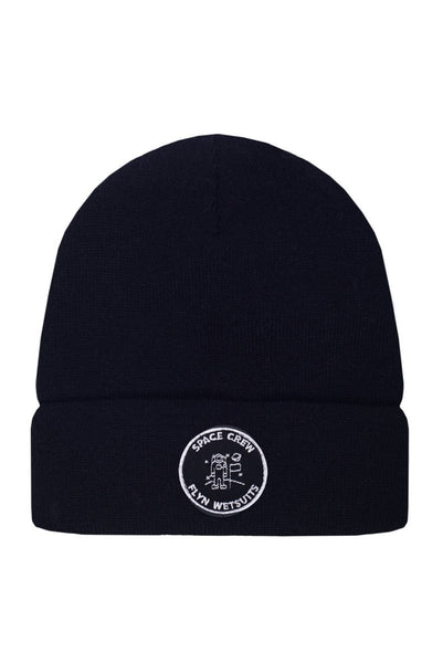 BEANIE BLACK SPACE CREW