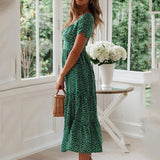 Vinatge Style Long Summer Dress