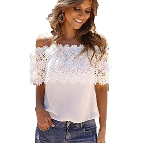 Sexy Off Shoulder Blouse