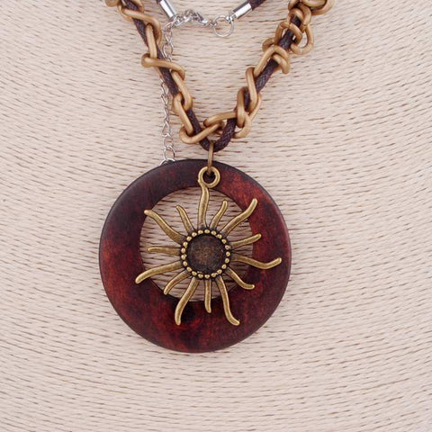 Antique Vintage Long  Necklace
