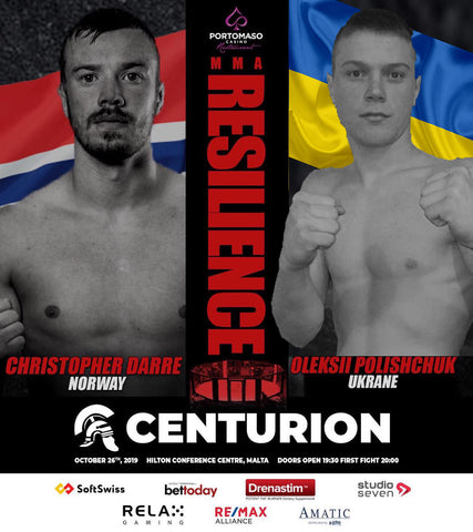 Christoffer Darre MMA fight Card