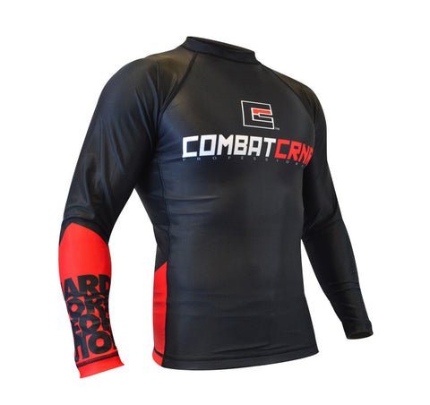 Hard Work Dedication Rash Guard