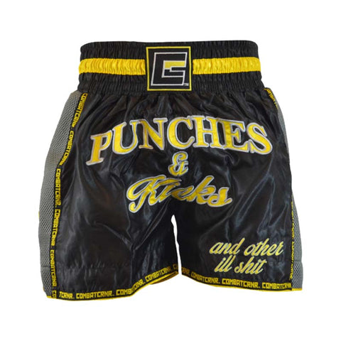 Punches & Kicks Thai Shorts