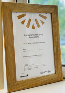 Finalist : Premier's Sustainability Award 2019