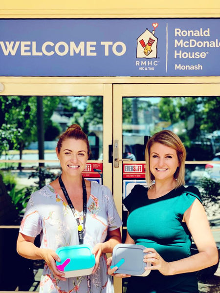 Supporting those who support others: Ronald McDonald House Charities in Victoria & Tasmania.