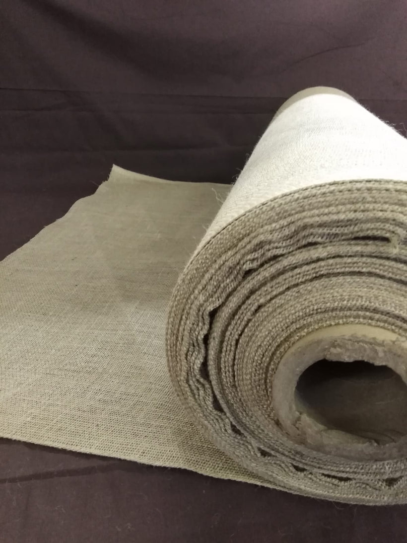 "Flame Retardant Hessian 10oz Weight, 39"" Wide (100cm)"