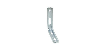 Slotted Angle Bracket L shaped - Zinc