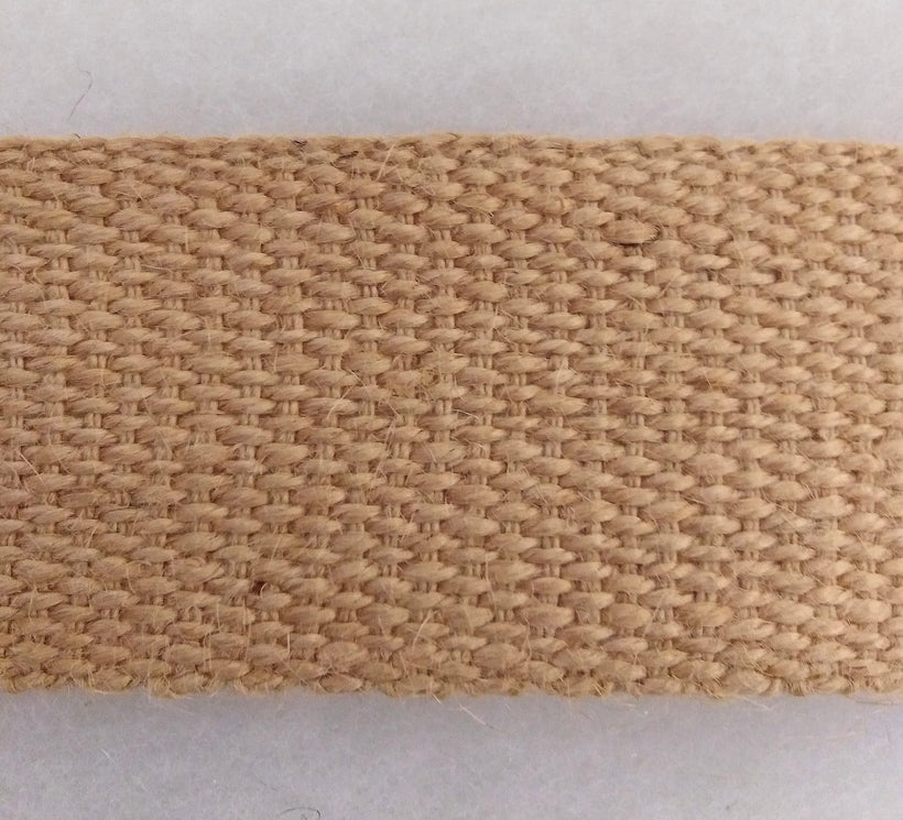 "Jute Webbing 2"" Wide (50mm) 33M"