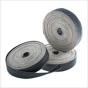 "Black and White Webbing 2"" Wide (50mm) 33M"