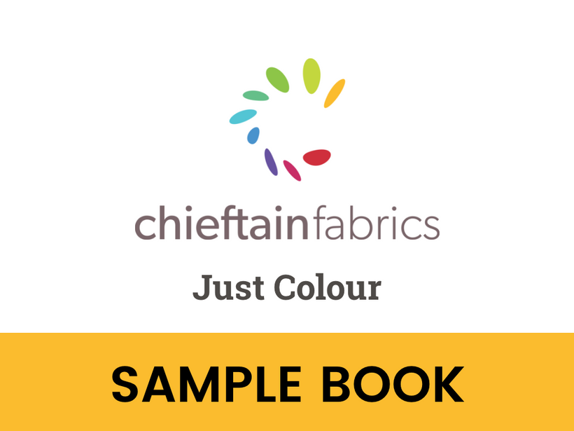 Just Colour Fabric Sample Book
