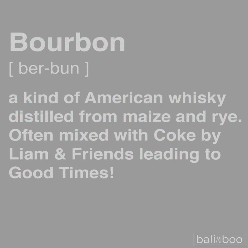 Personalised Definition of Bourbon Engraved Decanter Bottle