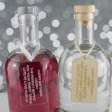 Personalised Decanter Gift Tag Choices