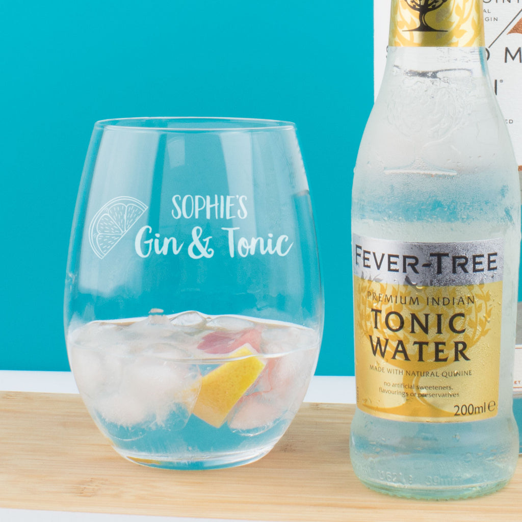 Personalised Gin and Tonic Tumbler