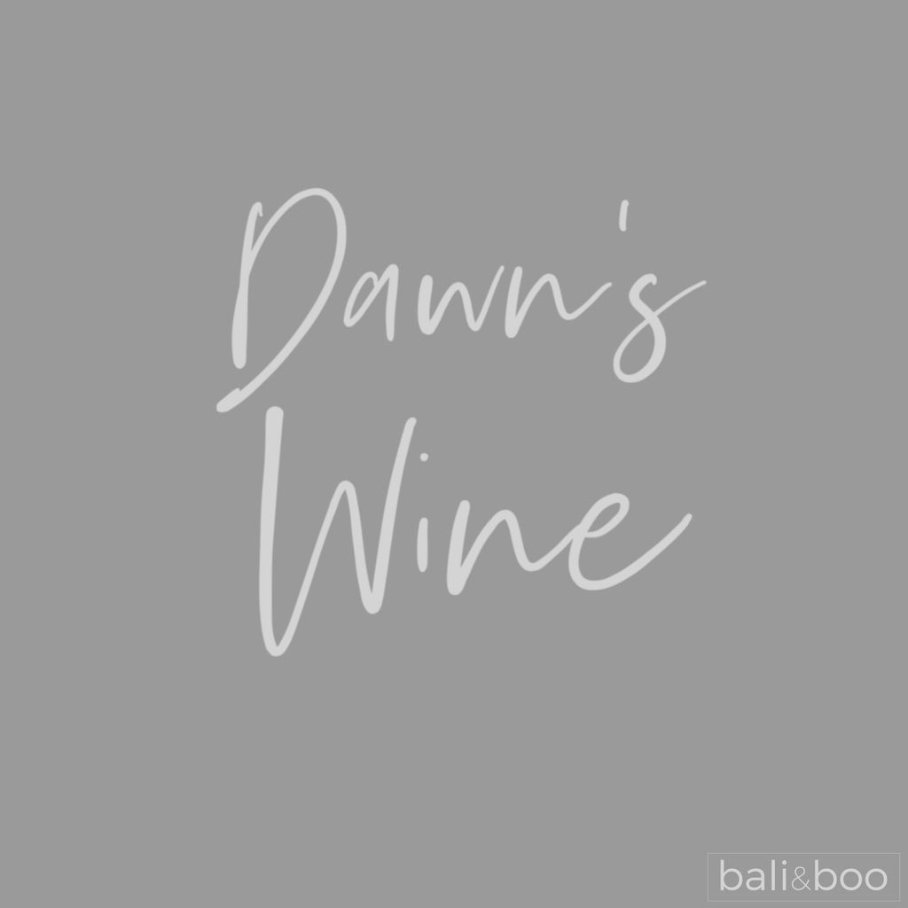 Personalised Handwritten Style Wine Glass Large