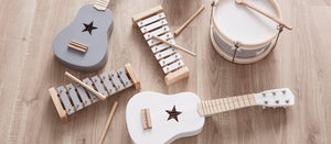 kids concept guitar xylophone musical instruments
