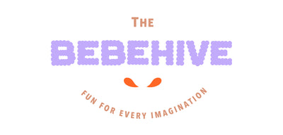 The Bebe Hive Logo - Purple, Brown and Orange