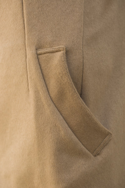 Cashmere Sack Coat